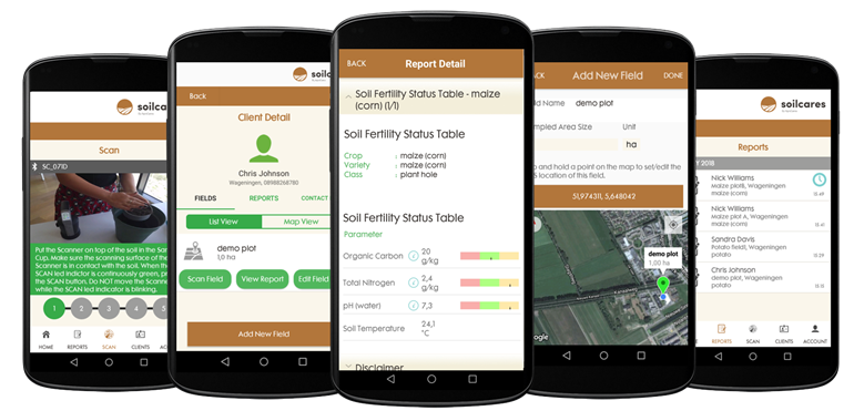 AgroCares introduces SoilCares Adviser Europe app