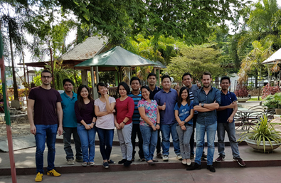 First training on SoilCares Sensor Lab in the Philippines