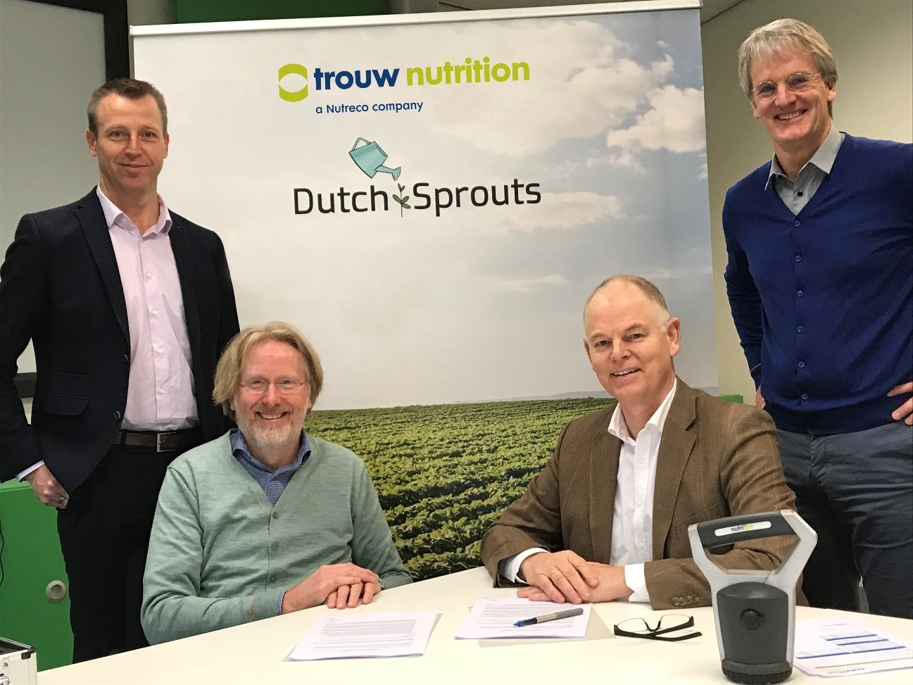 Trouw Nutrition collaborates with Dutch Sprouts on developing feed advisory tool
